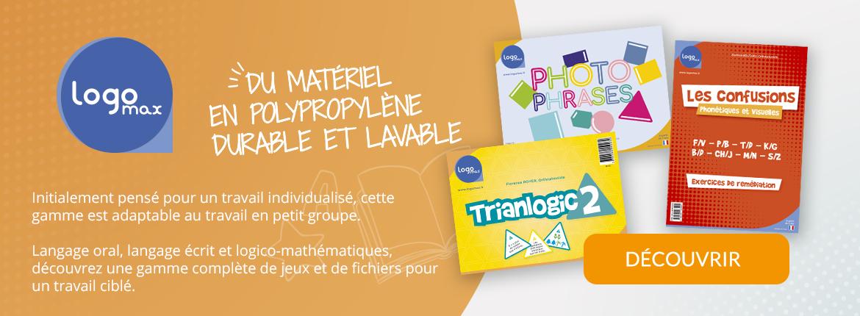 Logomax - Matériel lavable et durable