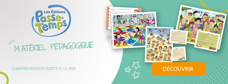 Éditions Passe-Temps - Matériel Pédagogique