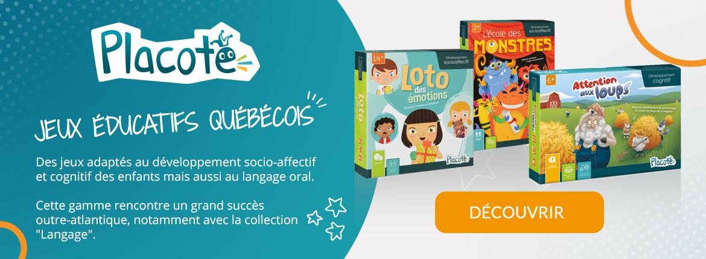 Placote - Jeux éducatifs Québécois